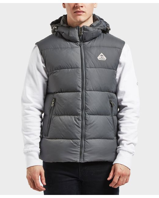 Pyrenex - Gray Spoutnik Vest for Men - Lyst