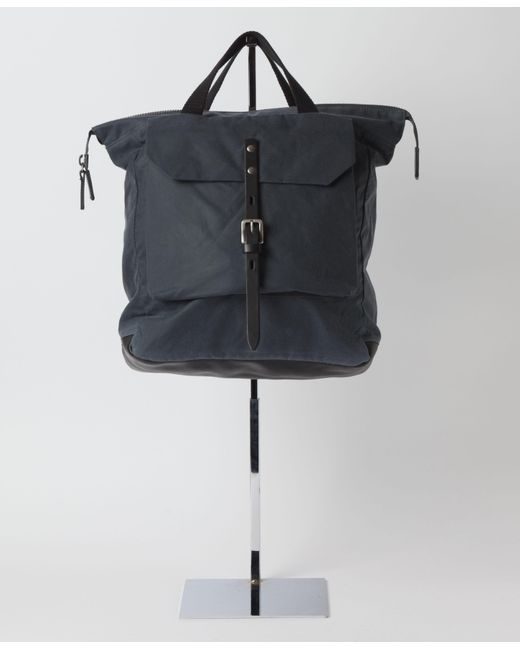 Ally Capellino | Gray Frances Waxed Cotton Rucksack for Men | Lyst