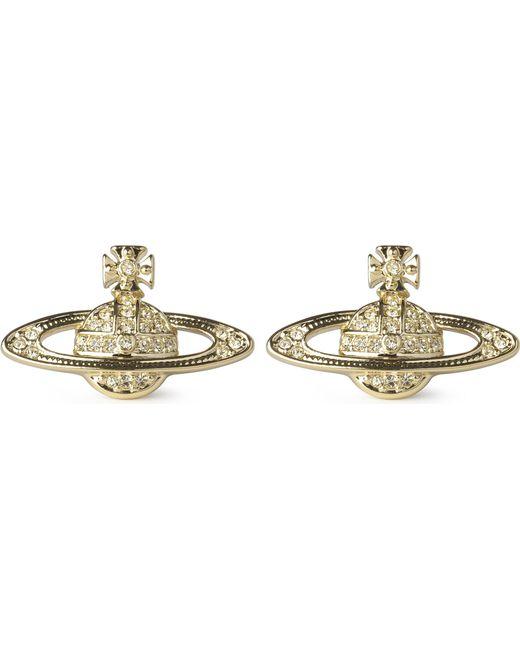 Vivienne Westwood | Metallic Bas Relief Earrings Jonquil | Lyst