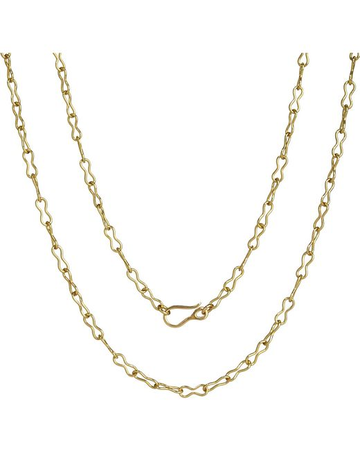 Annoushka | Classic Infinity Handmade 18ct Yellow-gold Chain Necklace | Lyst
