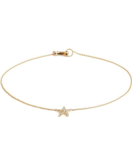 Annoushka | Metallic Love Diamonds 18ct Yellow-gold Starfish Bracelet | Lyst