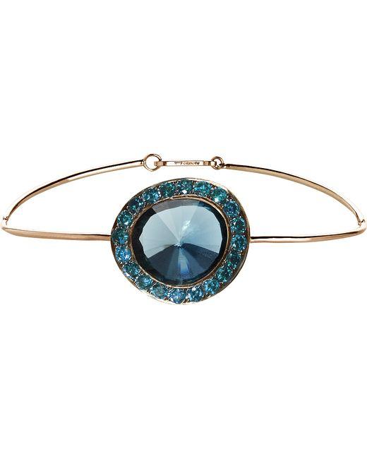 Annoushka | Blue Dusty Diamonds 18ct Rose-gold Topaz And Diamond Bangle | Lyst
