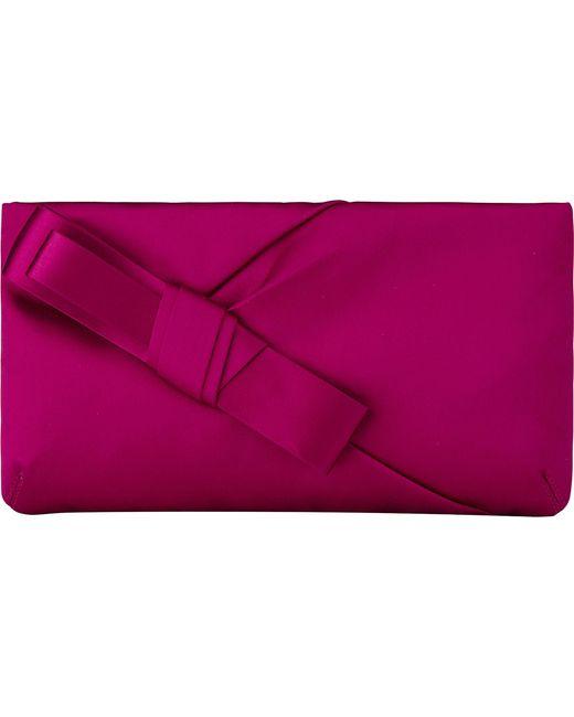 L.K.Bennett | Purple Frances Satin Shoulder Bag | Lyst