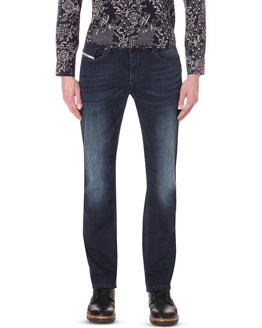 DIESEL | Blue - 'thavar' Jeans - Men - Cotton/spandex/elastane - 28/30 for Men | Lyst