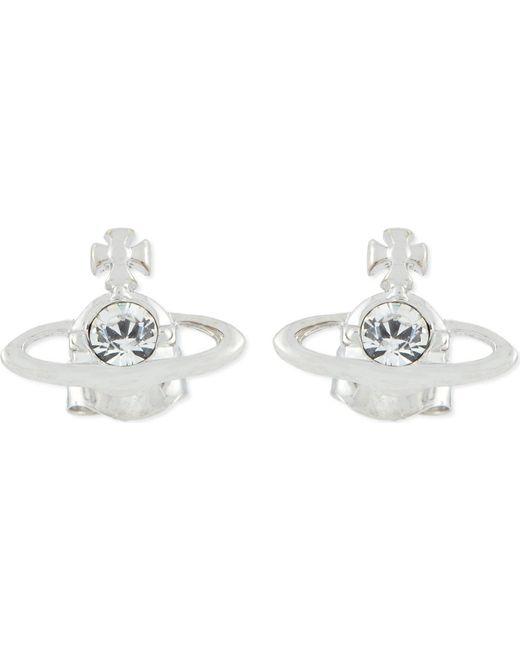 Vivienne Westwood   Metallic Nano Solitaire Earrings   Lyst
