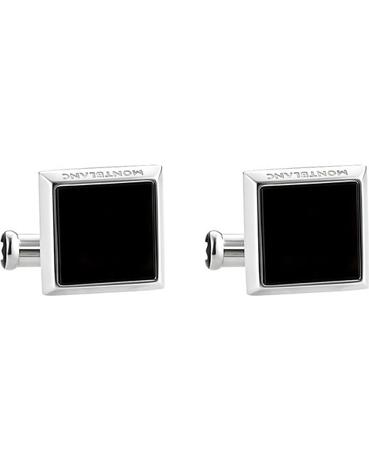 Montblanc   Multicolor Sartorial Square Onyx Cuff Links for Men   Lyst