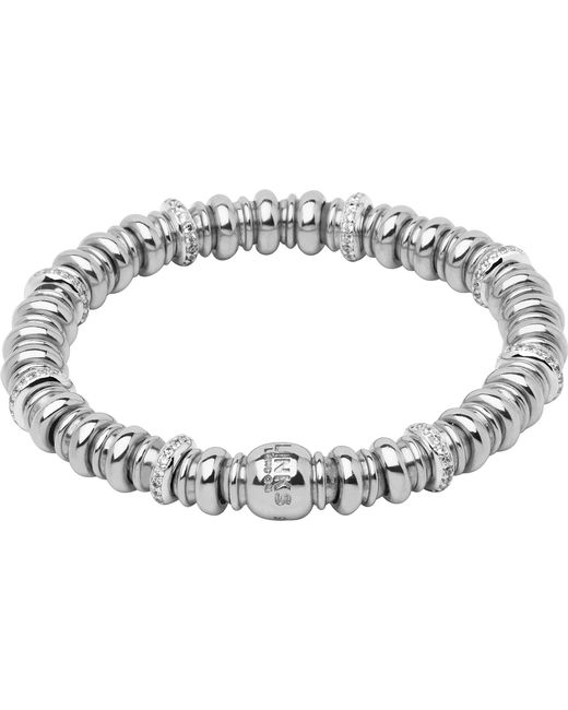 Links of London | Metallic Sweetheart Sterling Silver And White Topaz Bracelet | Lyst