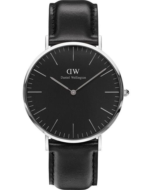 Daniel Wellington - Black Classic Sheffield Stainless Steel Watch - Lyst