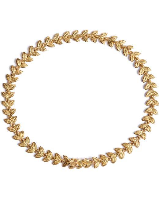 Annoushka - Metallic Vine 18ct Gold And Diamond Bracelet - Lyst