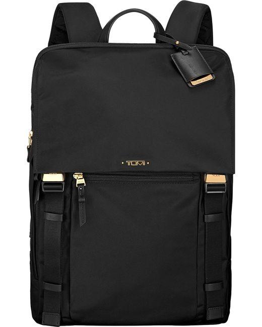 Tumi | Black Sacha Flap-front Backpack | Lyst