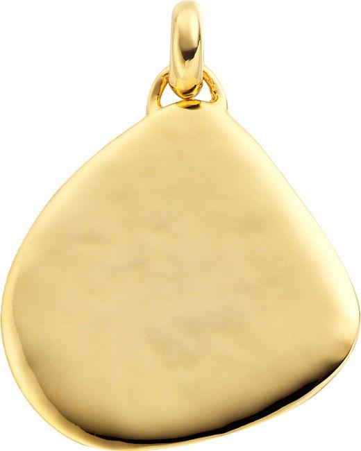 Monica Vinader - Metallic Siren 18ct Gold-plated Vermeil Large Pendant - Lyst