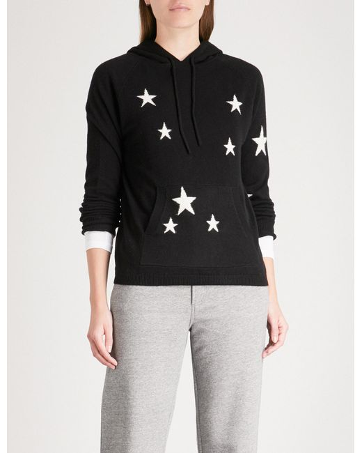 Chinti & Parker - Black Star Cashmere Hoody - Lyst