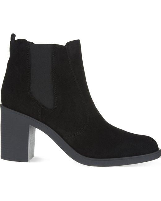 KG by Kurt Geiger | Black Sicily Ankle Boots | Lyst