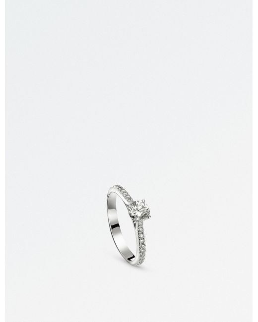 BUCHERER JEWELLERY - Joy 18ct White Gold And Diamond Ring - Lyst