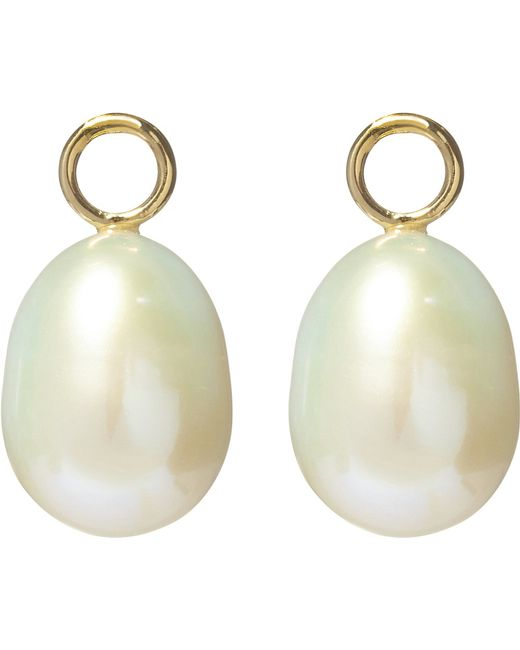 Annoushka | Classic Baroque 18ct Yellow Gold And Pearl Earring Drops | Lyst