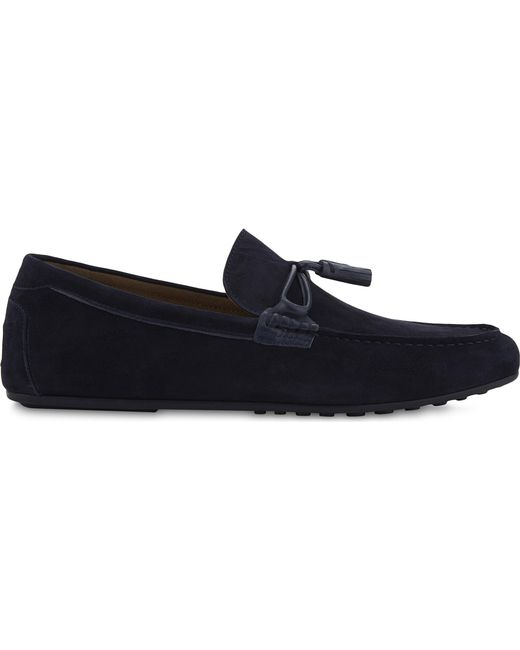ALDO - Blue Lovewien Suede Loafers for Men - Lyst