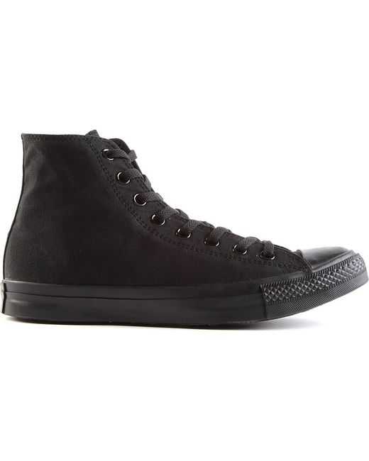 Converse | Black All Star Mono Ox High-top for Men | Lyst