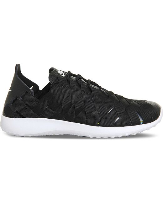 Black And White Nike Criss Cross Shoes