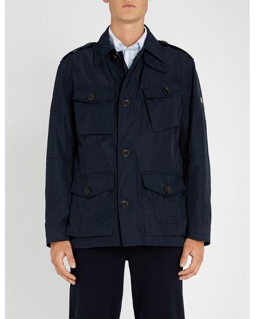 Ralph Lauren Purple Label - Blue Utility Shell Jacket for Men - Lyst