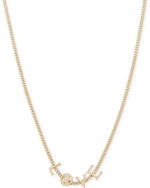Chloé   Metallic Love Necklace   Lyst