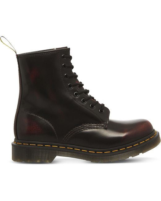 Dr. Martens | Red 1460 8-eye Leather Boots | Lyst