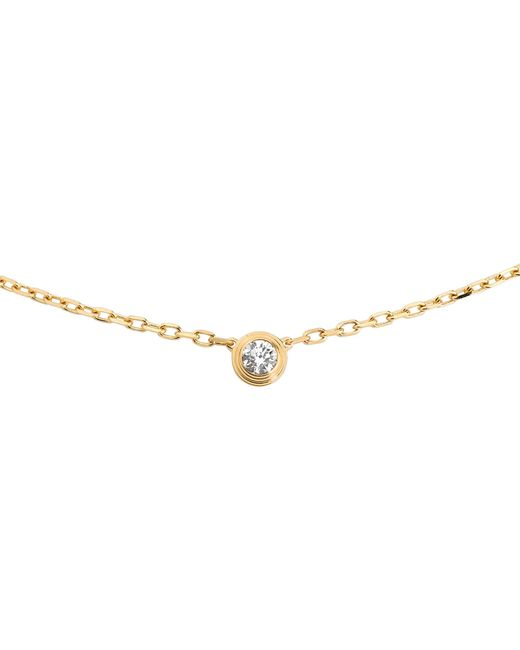 Cartier | Metallic Diamants Légers De 18ct Gold And Diamond Necklace | Lyst