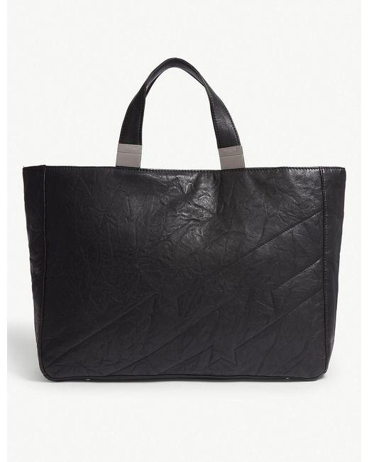 Zadig & Voltaire - Black Carla Matelasse Leather Shopper - Lyst