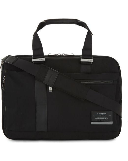 Samsonite - Black Openroad Laptop Briefcase for Men - Lyst