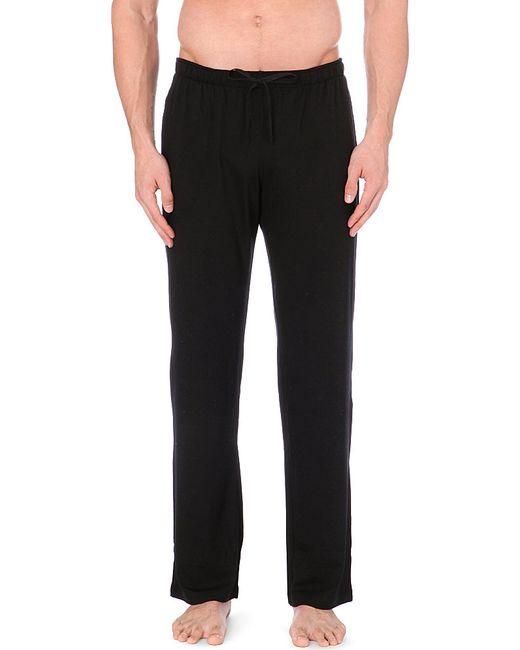 Derek Rose | Black Basel Casual Trousers for Men | Lyst