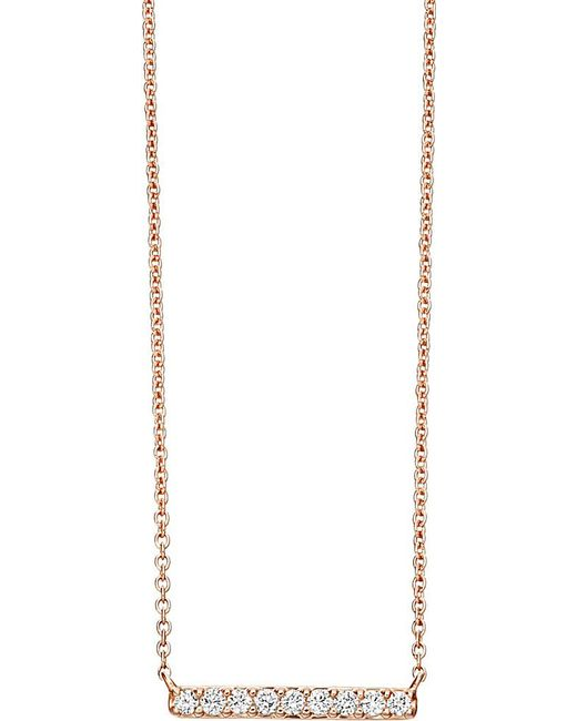 Astley Clarke | Pink Small Linia Halo Necklace | Lyst