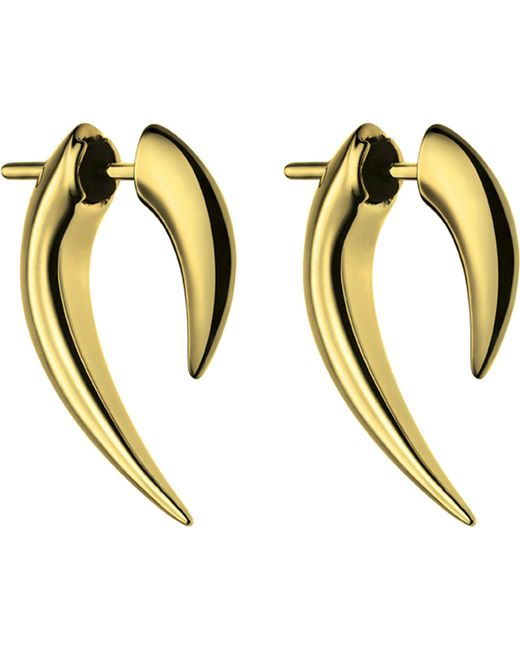 Shaun Leane - Metallic Sterling Silver And Gold Vermeil Talon Earrings - Lyst