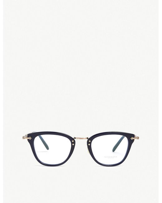 Oliver Peoples - Blue Keery Square-frame Sunglasses - Lyst