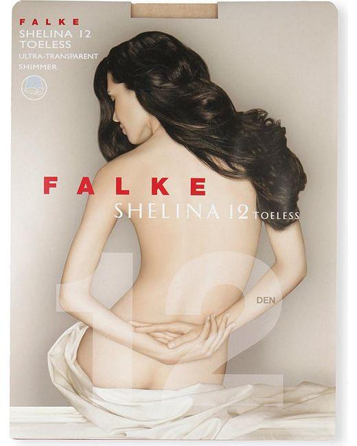 Falke | Natural Shelina 12 Toeless Tights | Lyst