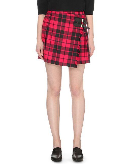 Wool Tartan Skirt - Best Voyeur Porn-4204