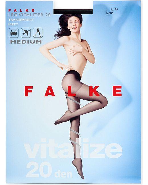 Falke   Black Vitalize 20 Denier Tights   Lyst