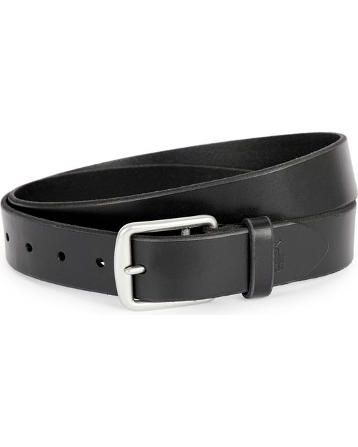 Polo Ralph Lauren - Black Harness Saddle Belt for Men - Lyst