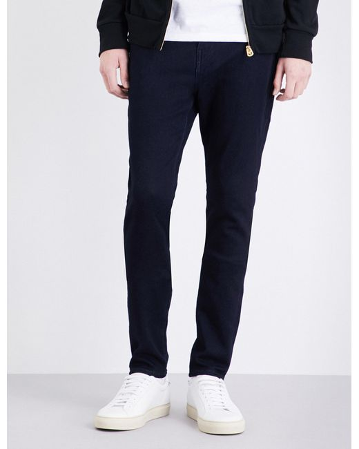 True Religion | Blue Jack Runner Skinny-fit Tapered Jeans for Men | Lyst