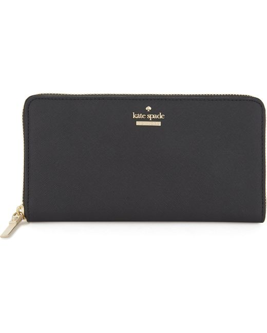 Kate Spade - Black Cameron Street Lacey Leather Purse - Lyst