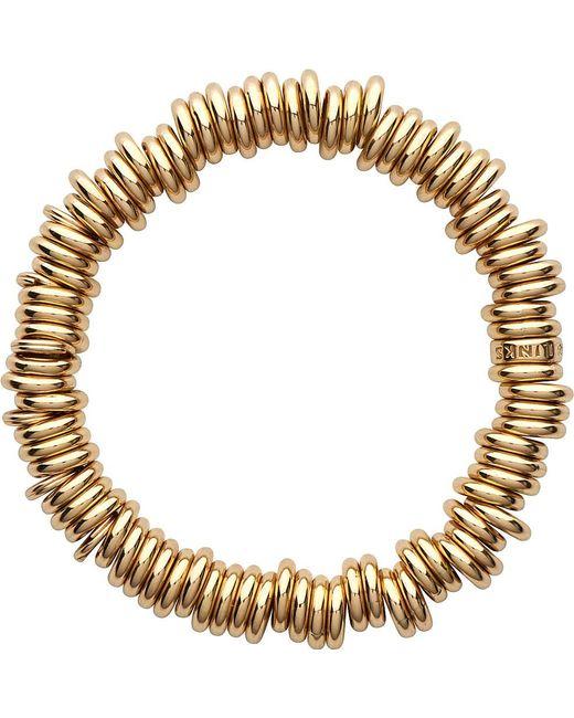 Links of London | Metallic 18-carat Gold Rolled Sweetie Bracelet | Lyst