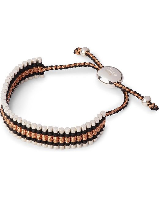 Links of London | Friendship Bracelet Black And Copper | Lyst