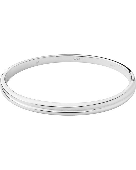 Links of London | Metallic Hope Sterling Silver Hinged Bangle | Lyst