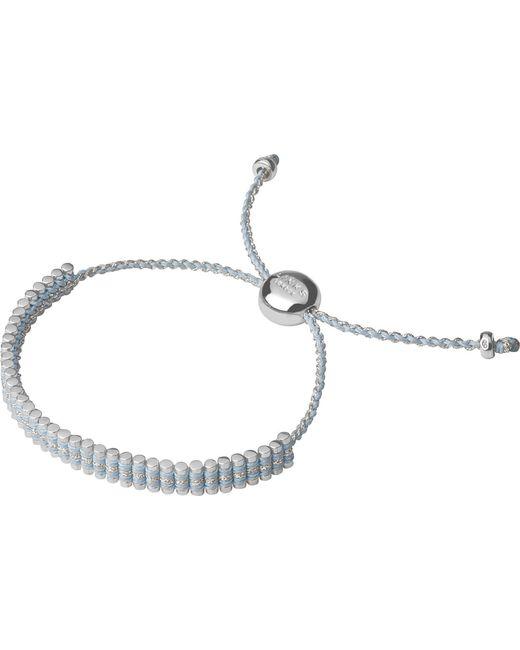 Links of London   Metallic Mini Friendship Bracelet   Lyst