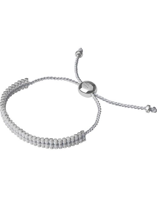 Links of London | White Mini Friendship Bracelet | Lyst
