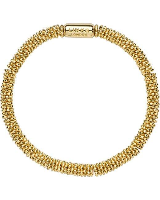 Links of London | Metallic Effervescence Star Extra-small Yellow-gold Vermeil Bracelet | Lyst