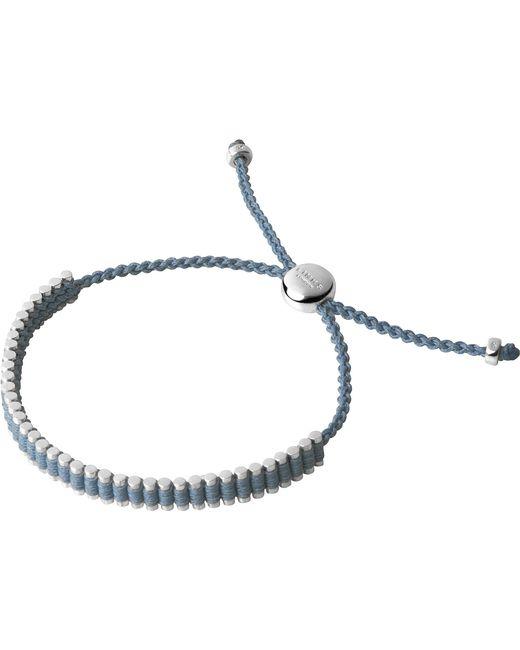 Links of London | Blue Mini Friendship Bracelet | Lyst
