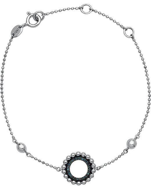 Links of London | Metallic Effervescence Sterling Silver And Diamond Bracelet | Lyst