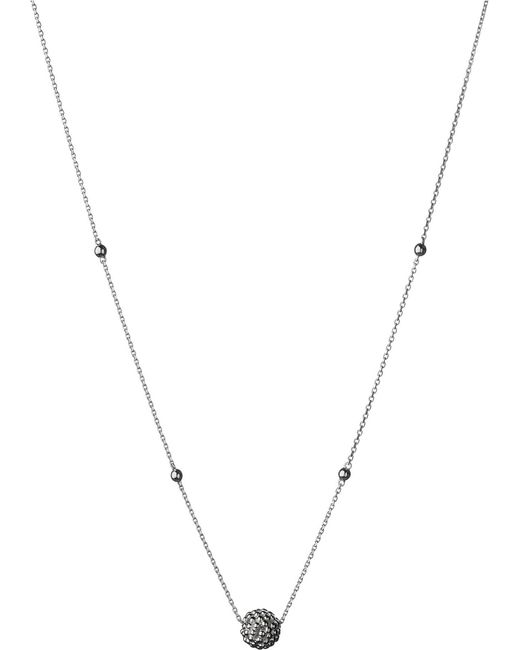 Links of London   Metallic Effervescence Bubble Sterling Silver Necklace   Lyst