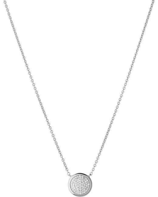 Links of London   Metallic Diamond Essentials Pave Necklace   Lyst