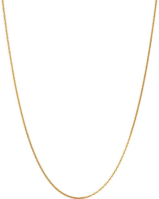 Links of London | Metallic Yellow-gold Vermeil Diamond-cut Chain | Lyst