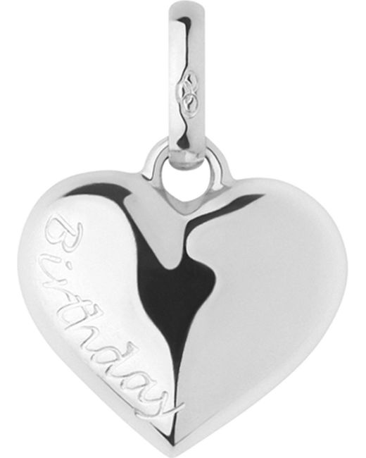 Links of London | Metallic Birthday Heart Sterling Silver Charm | Lyst